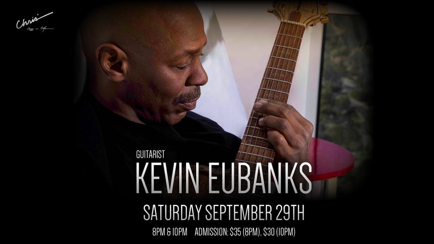 Guitarist, Kevin Eubanks