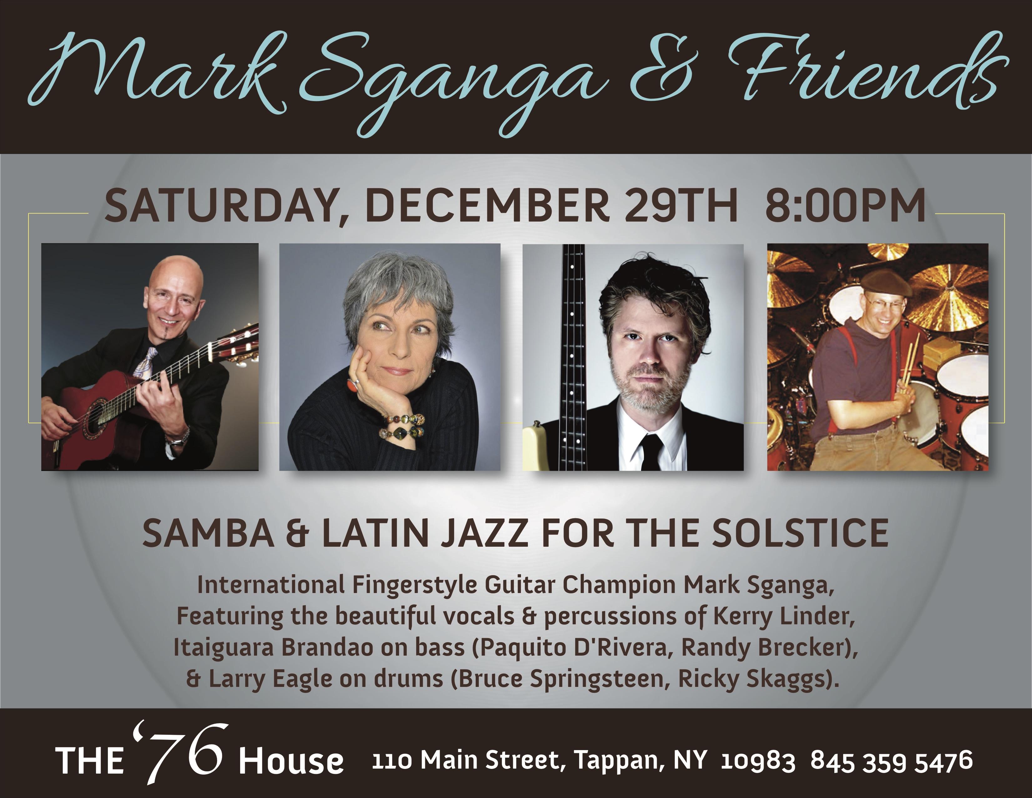 Mark Sganga: Samba & Latin Jazz For The Solstice!