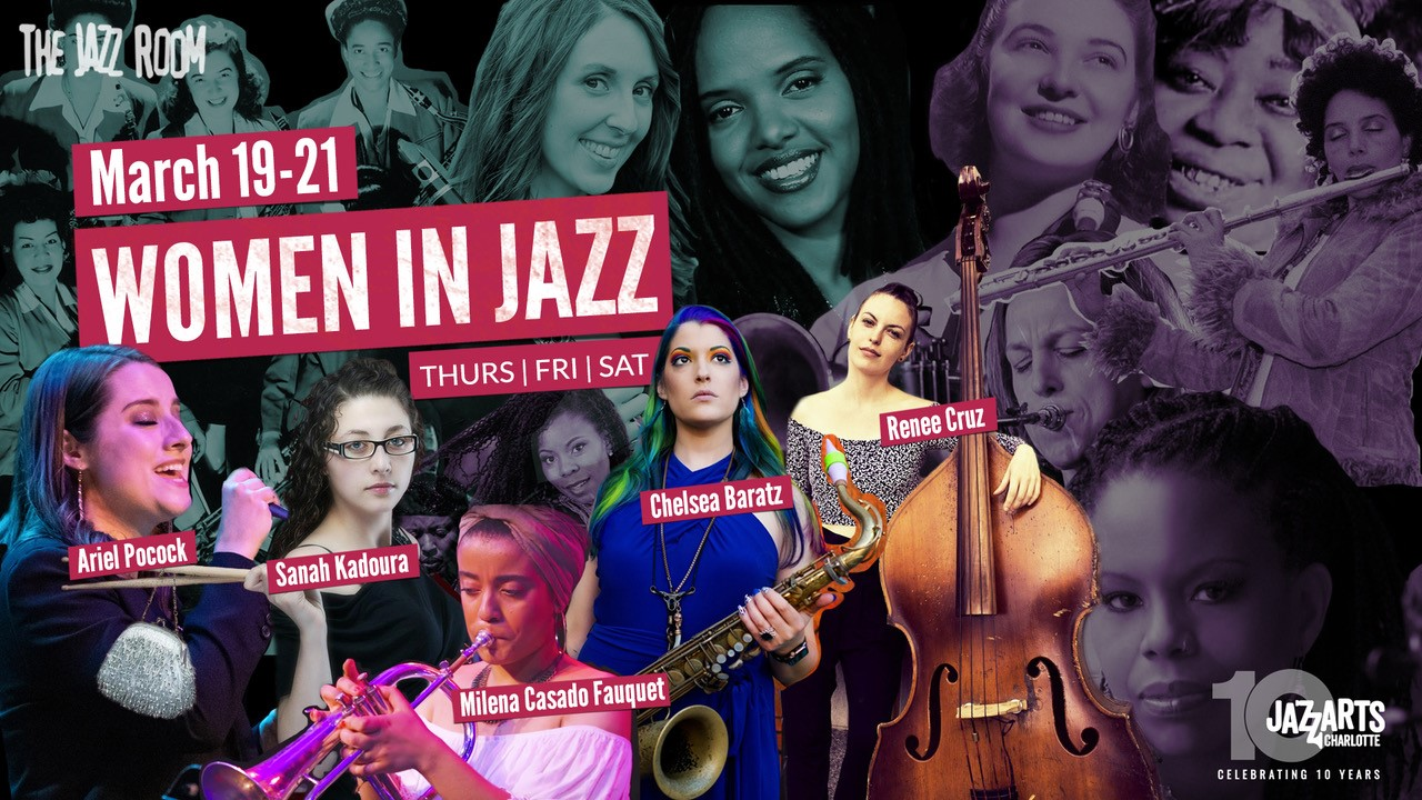 Jazz Room Presents Women In Jazz