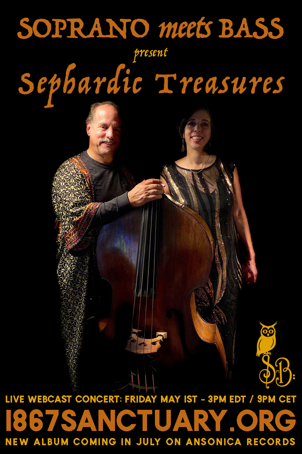 Soprano Meets Bass: Sephardic Treasures