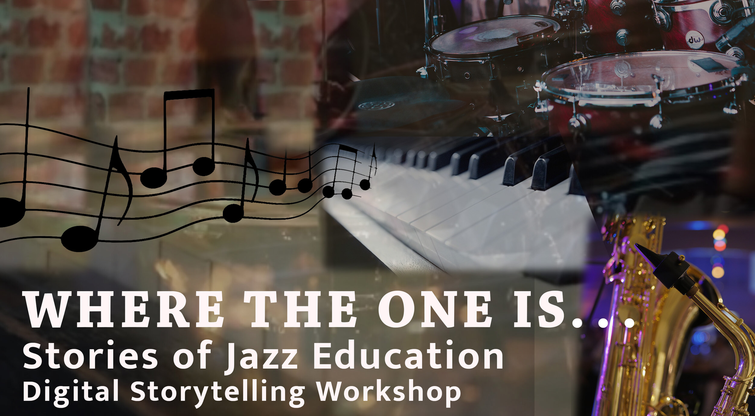 Where The One Is - Digital Storytelling About Jazz