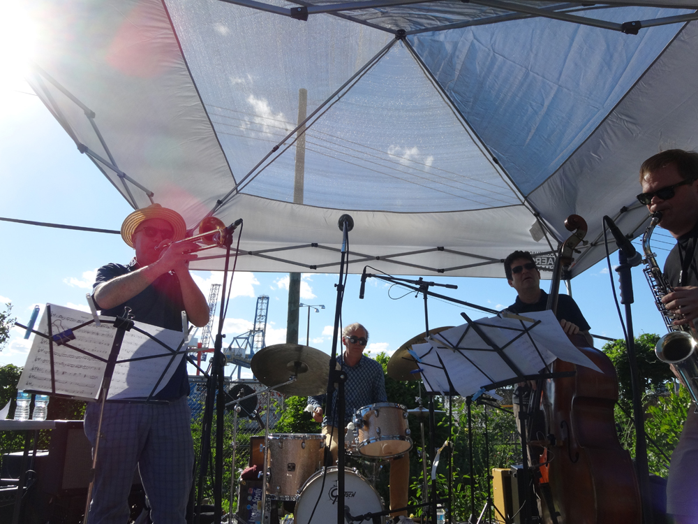 Sexmob, Red Hook Jazz Festival, 12th July 2016