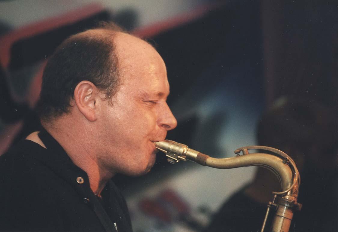 Richie Buckley, Guinness Cork Jazz Festival Oct 1997