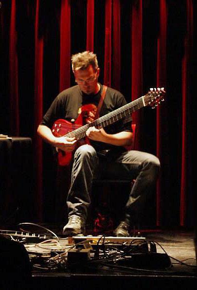 Touch Guitarist Markus Reuter