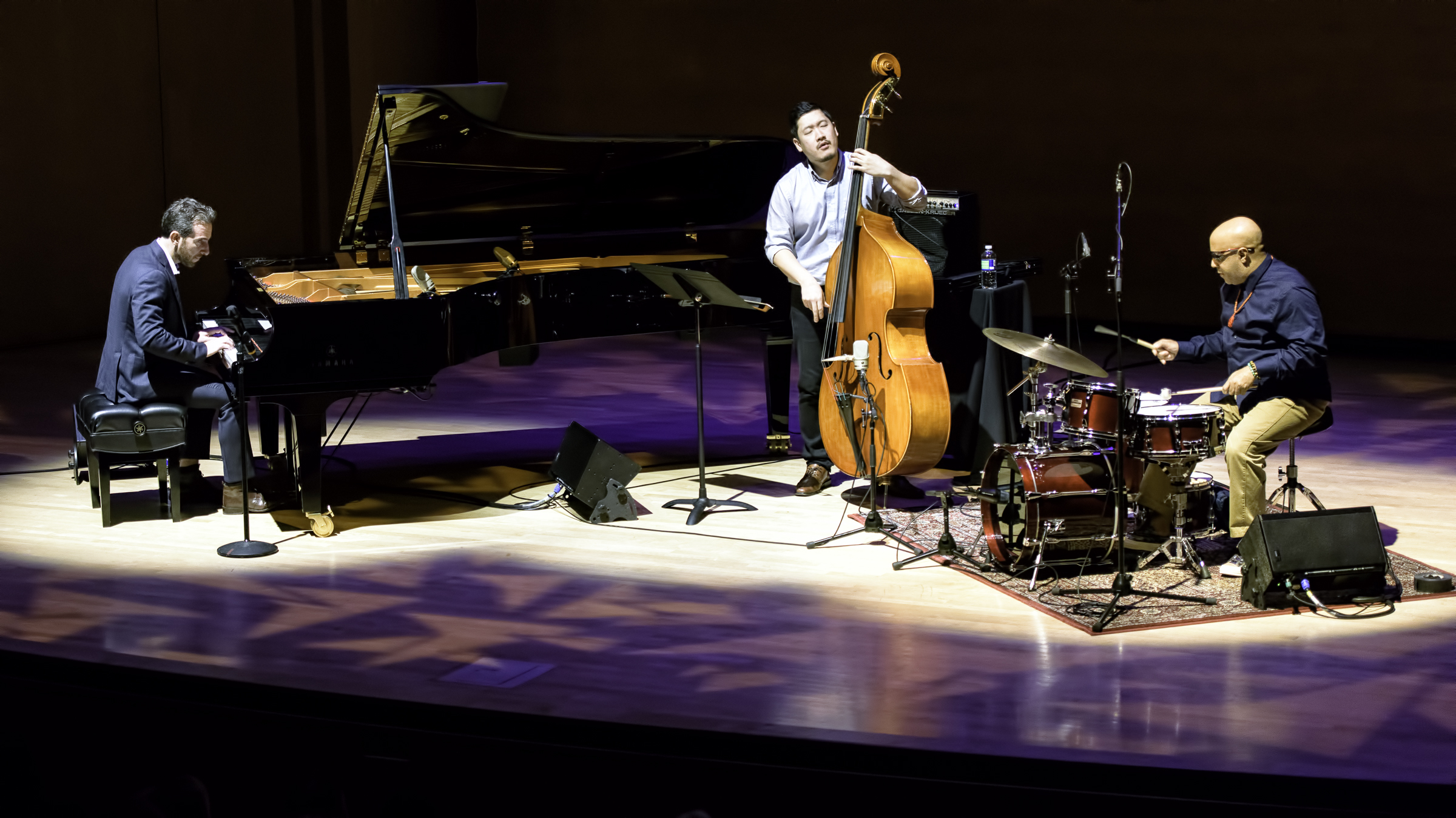 Aaron Goldberg, Yasushi Nakamura And Leon Parker At The Musical Instrument Museum (mim) Phoenix