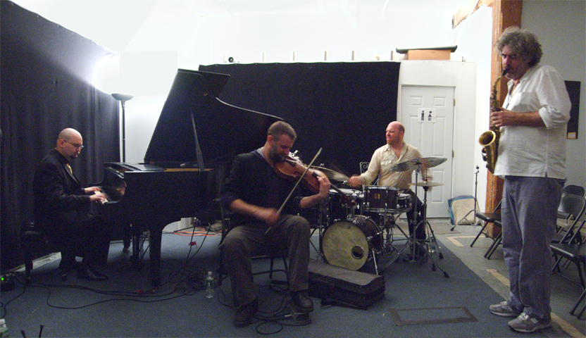 Buffalo Collision with Tim Berne, Mat Maneri, Ethan Iverson and David King - Center for Improvisational Music 2007
