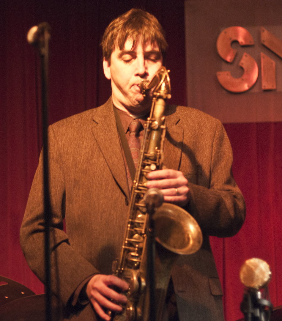 Mike Lee with the Ken Fowser Quintet at Smoke Jazz Club
