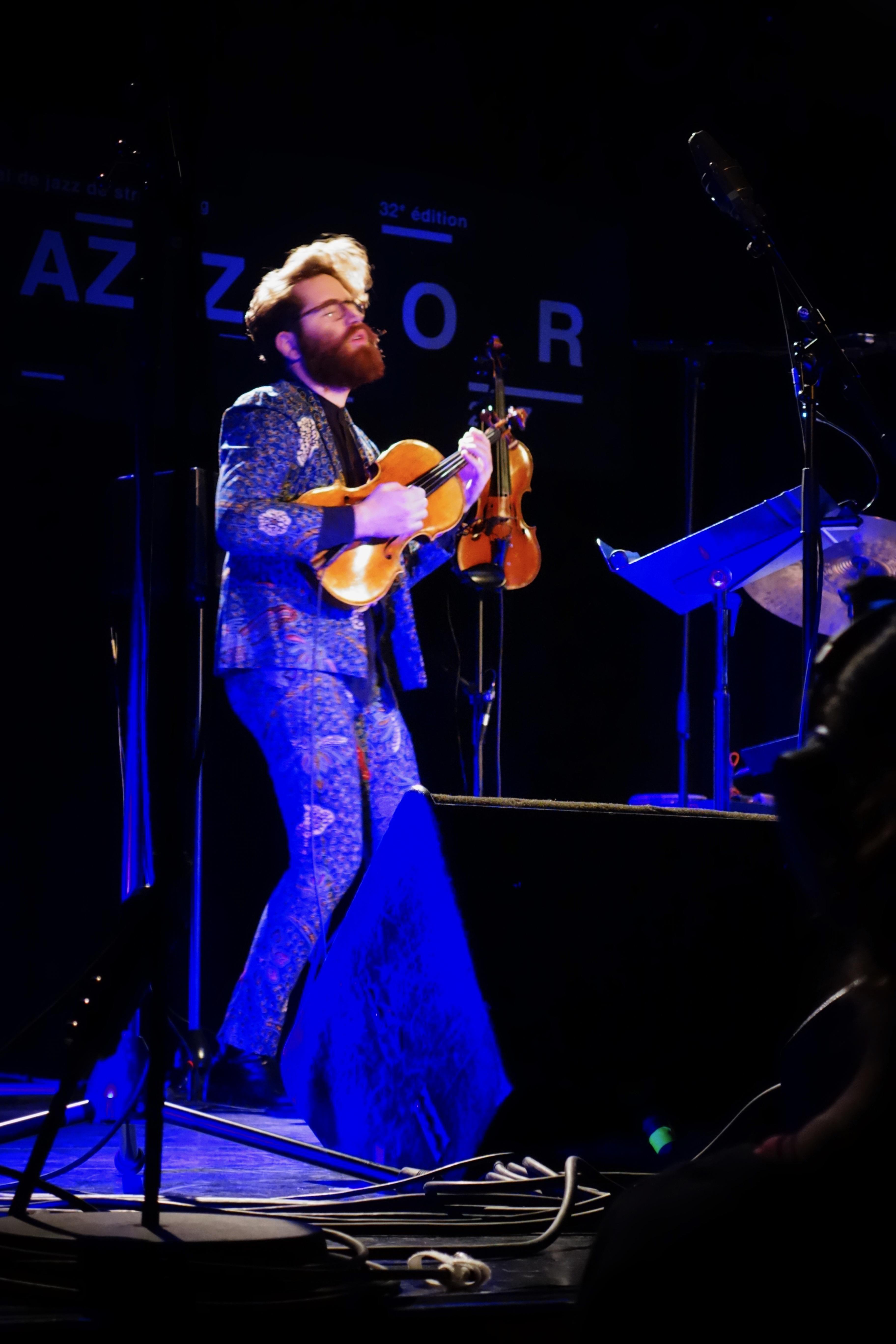 Theo Ceccaldi - Jazzdor Strasbourg 2017