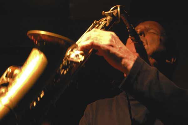 "Dick Oatts with ""David Berkman Quartet"" at Amr, Sud Des Alpes, Geneva, Switzerland,2004"