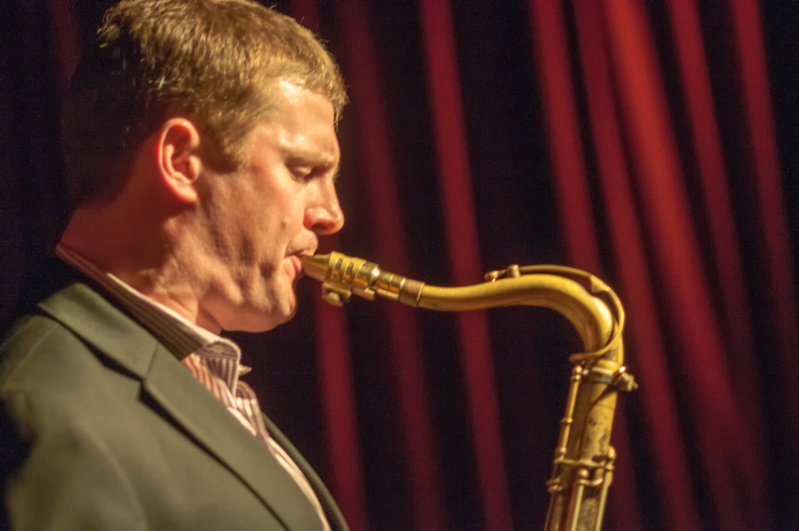Eric Alexander with the Mabern Alexander Quartet at the John at the John Coltrane Festival at Smoke Jazz Club