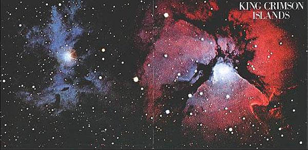 King Crimson, Islands Gatefold Cover - Outside