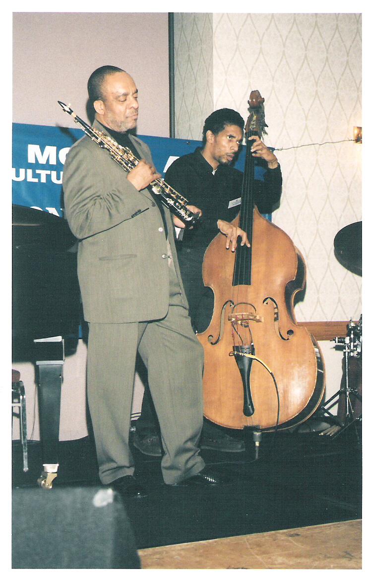 Grover Washington Jr. &Amp; Mike Boone at Tony Williams Jazz Festival