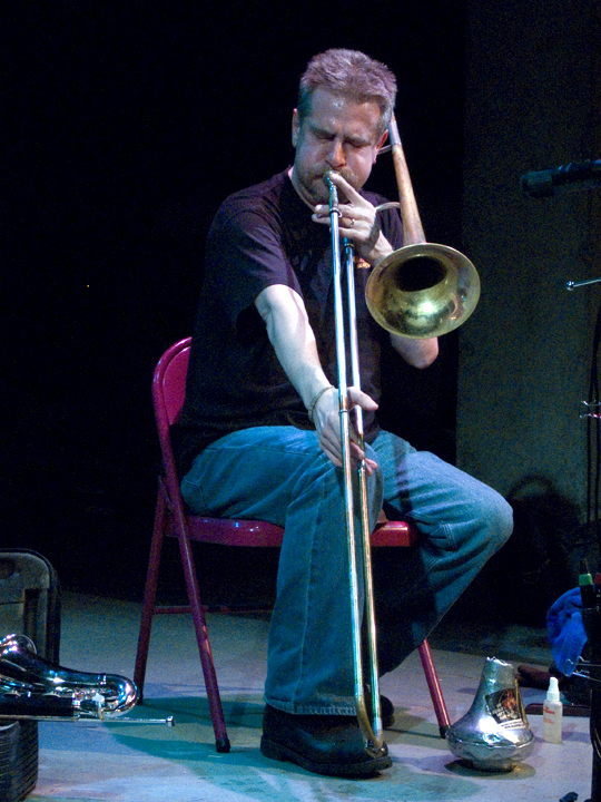 Steve Swell (with Ned Rothenberg) - The Living Theater 2008