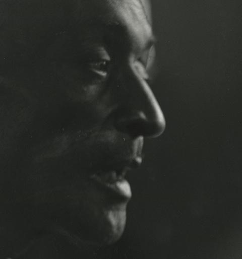 Unknown Bluesman, Berkeley, California C. 1960.