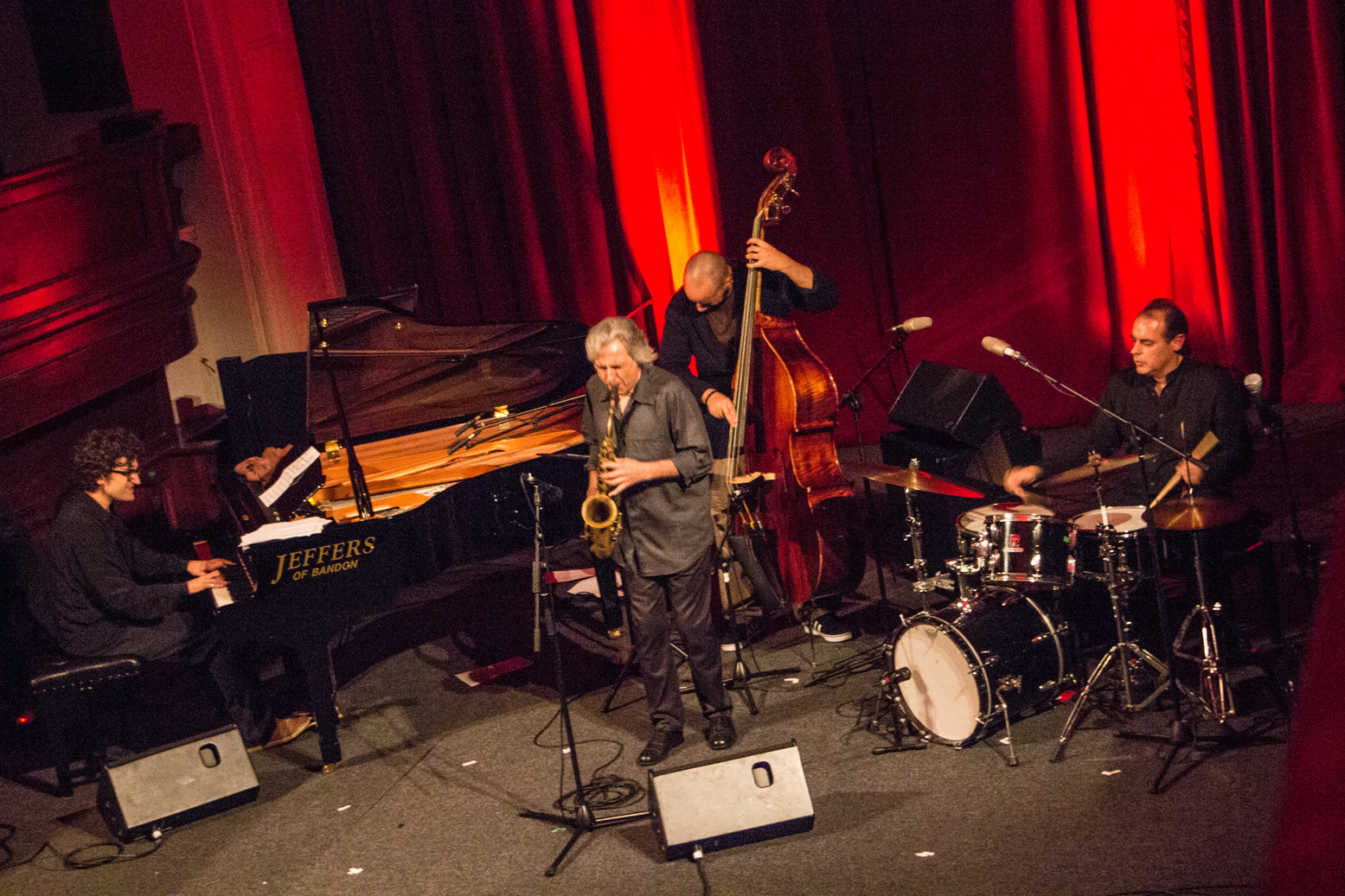 Perico sambeat quartet at cork jazz festival 2013