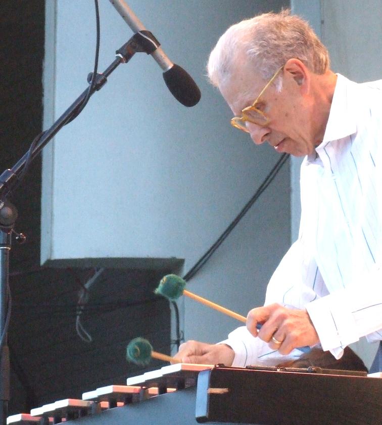 Stu Katz in Ira Sullivan's 80th Birthday set at at 2011 Chicago Jazz Festival
