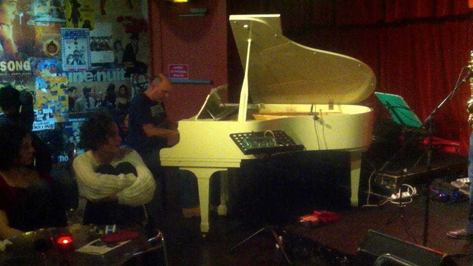 with Duke Ellington