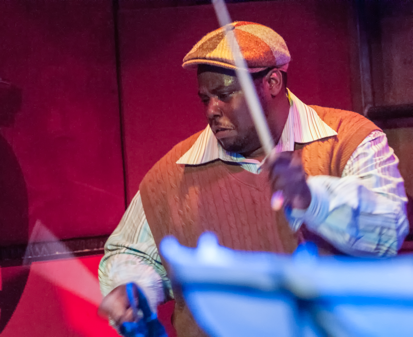 Johnathan Blake With Miguel Zenon At The Jazz Gallery Benefit At Rockwood Music Hall