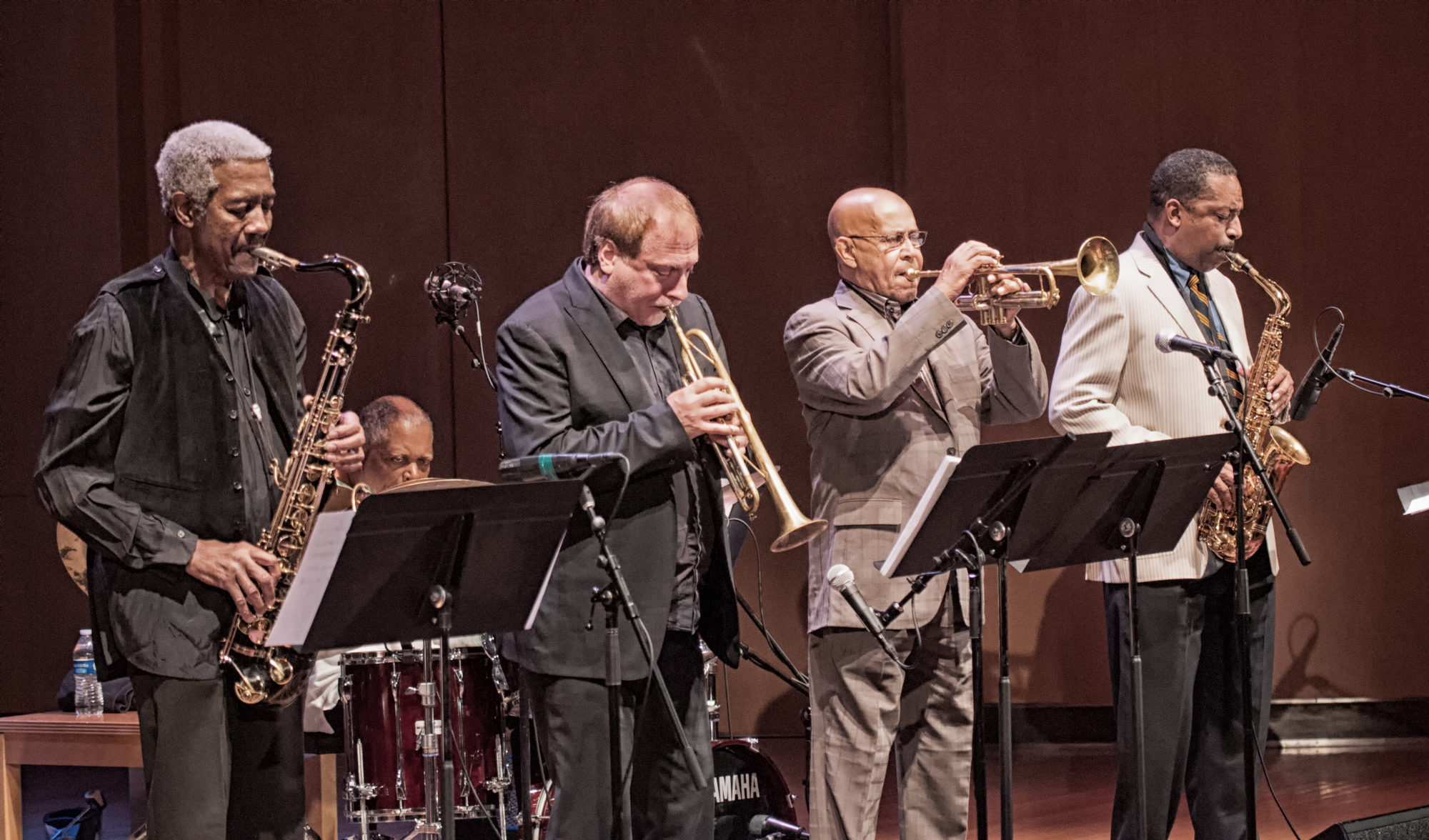 Billy Harper, David Weiss, Eddie Henderson And Donald Harrison With The Cookers At The Musical Instrument Museum (mim) In Phoenix
