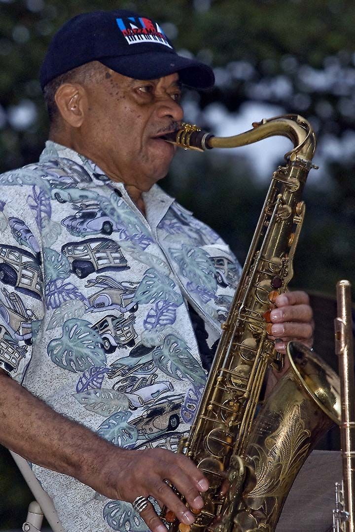 Frank Wess Performing at the 2009 Jazzmobile Reunion (NY)