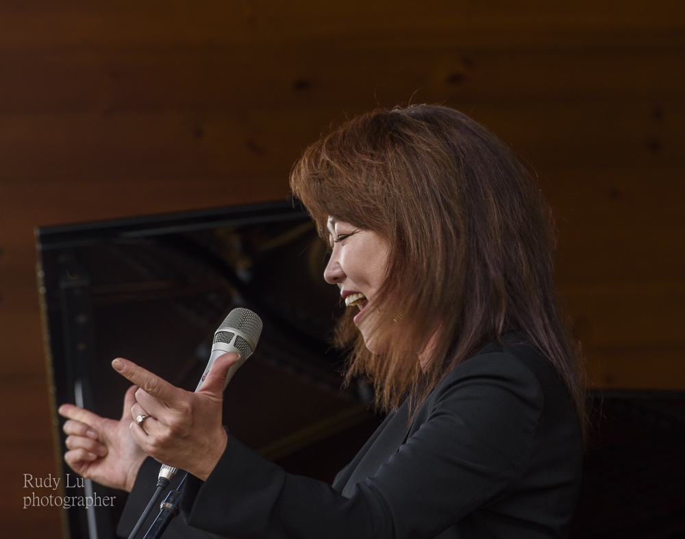 Youn  Sung Na with her unique vocal stylings