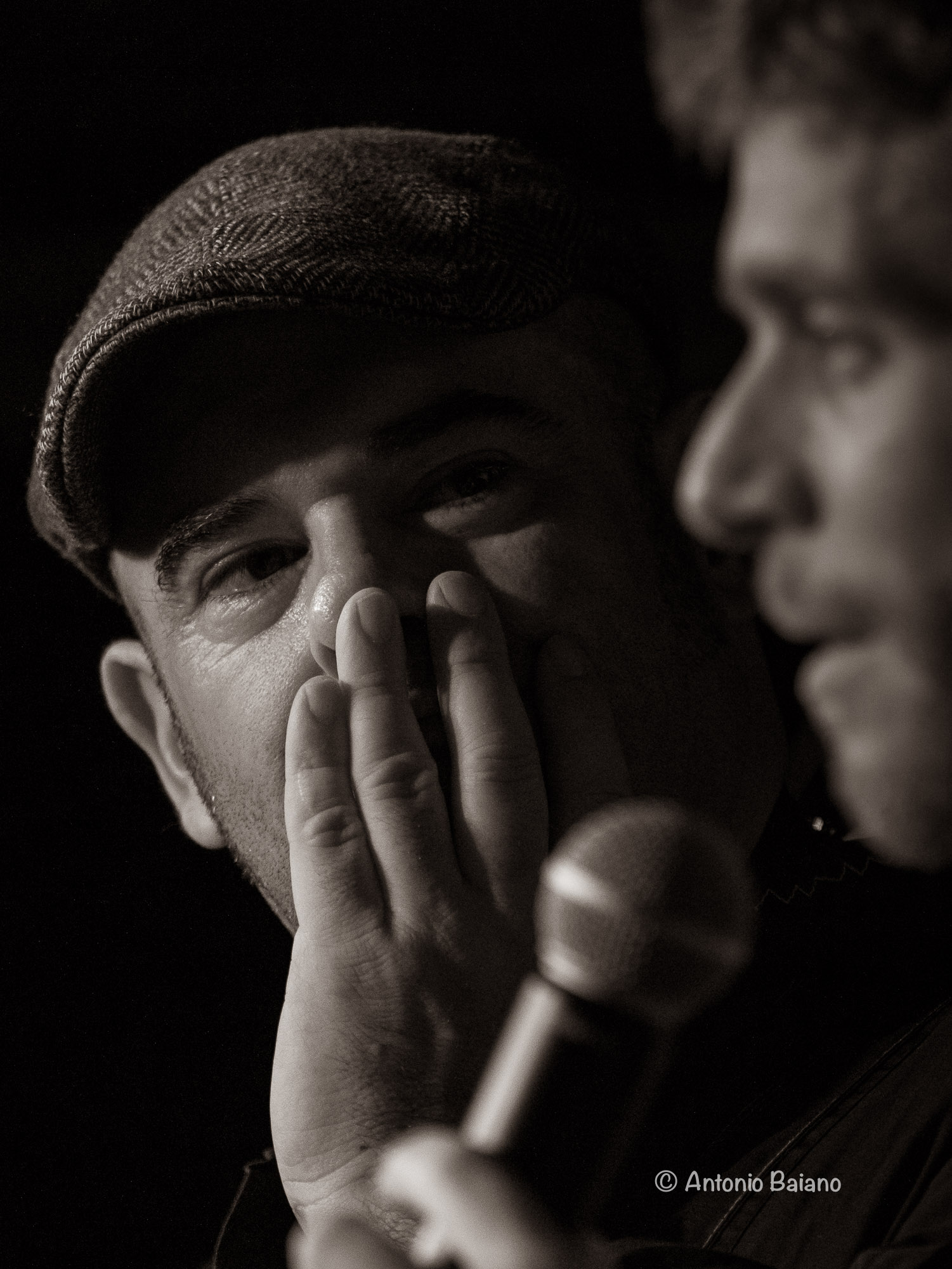 Gavino Murgia (with Luca Curcio speaking)
