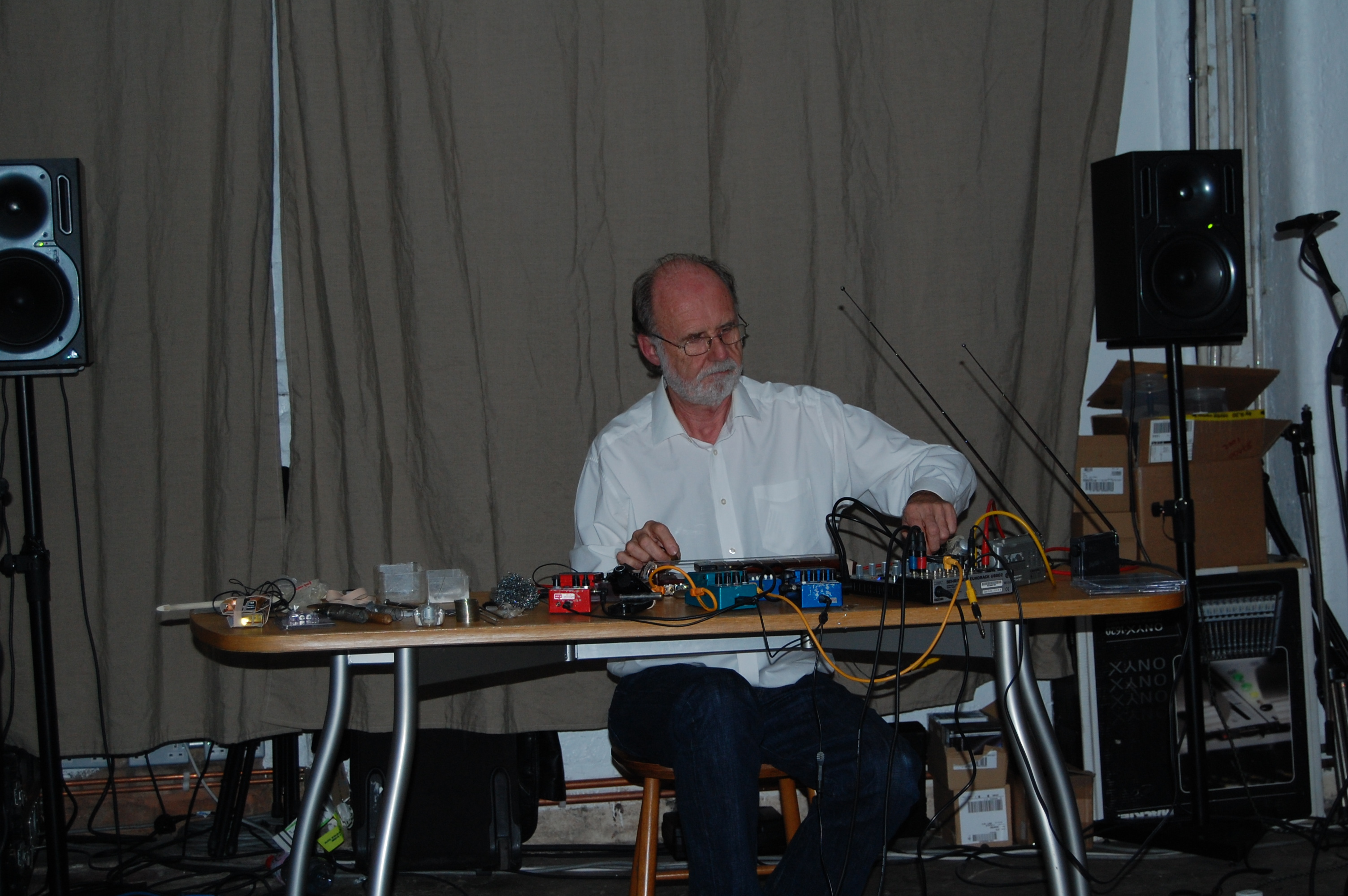 Keith Rowe at Cafe Oto