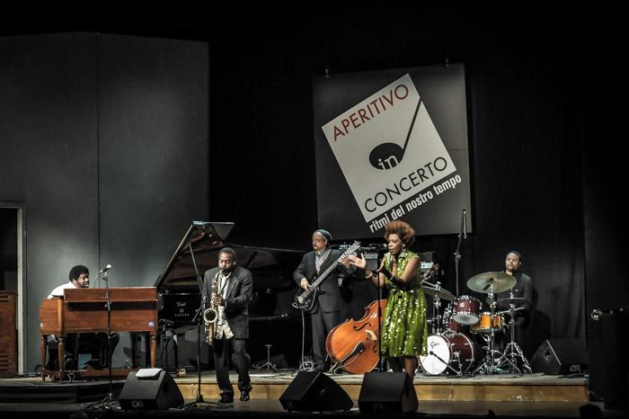 David murray aperitivo in concerto teatro manzoni milano italy 13.10.2013