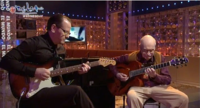 Brian Camelio and Jim Hall on Japanese TV