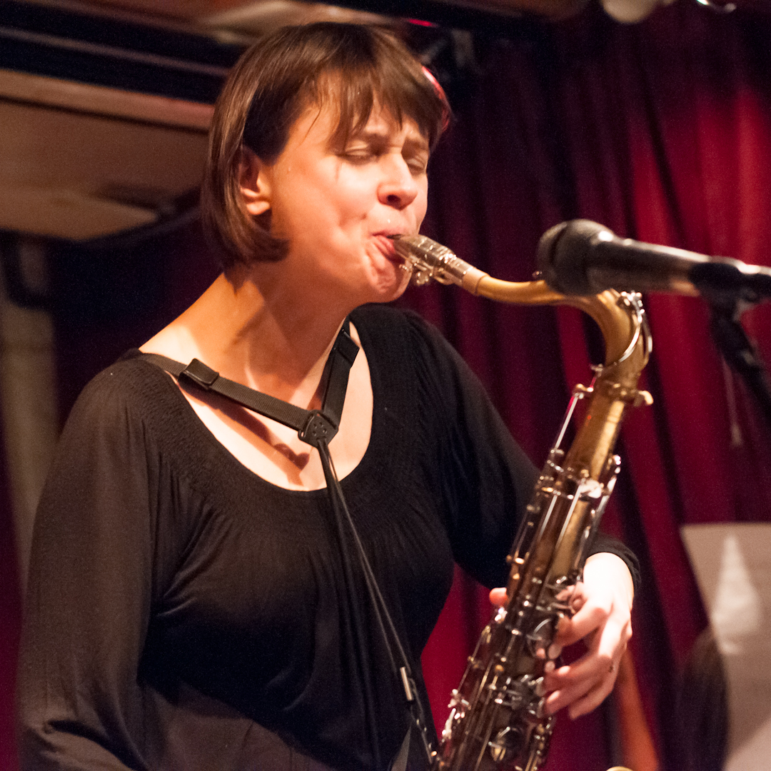 Ingrid Laubrock with Anti-House at Cornelia Street Cafe