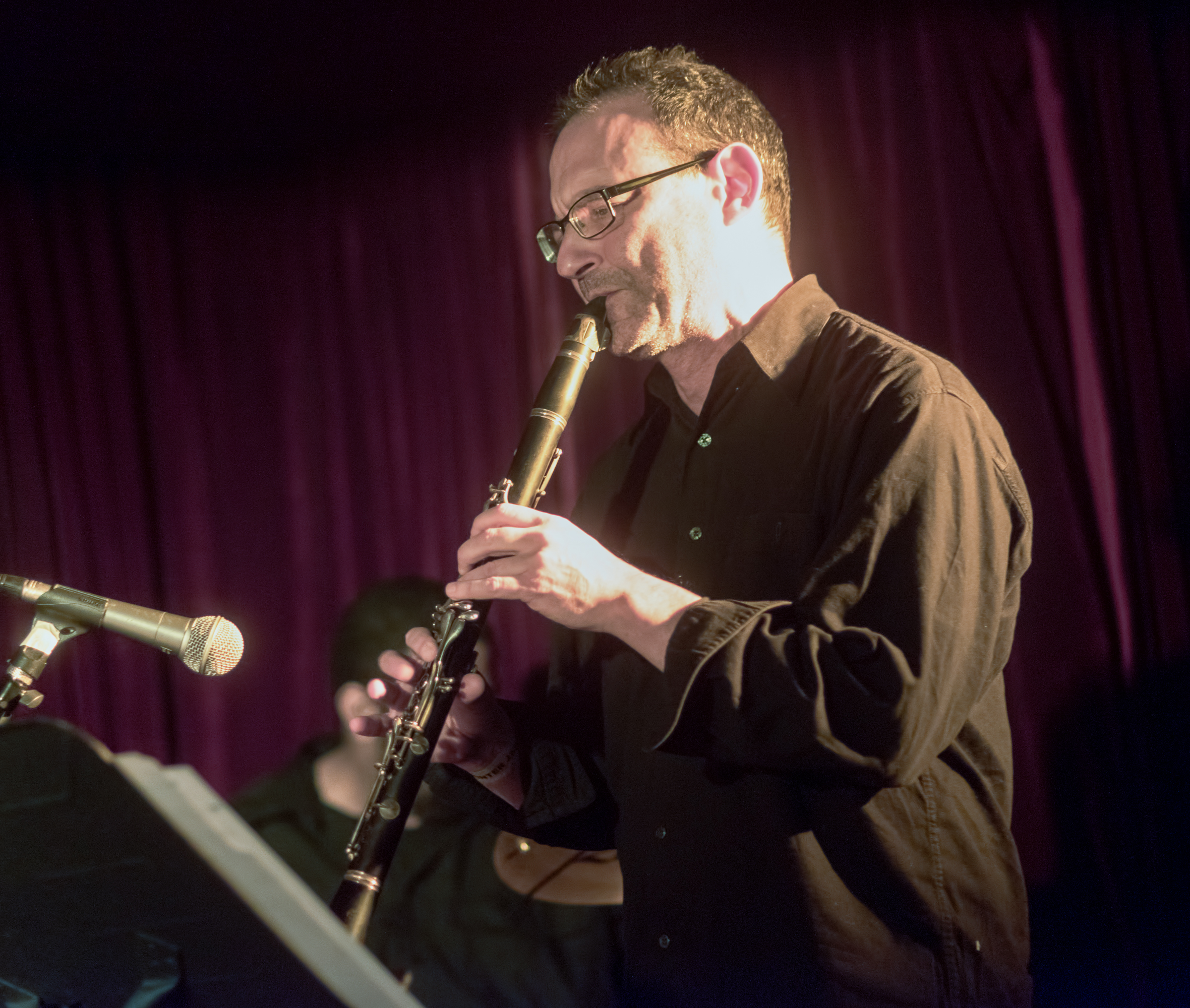 Ben Goldberg with Myra Melford's Snowy Egret at the Nyc Winter Jazzfest 2015