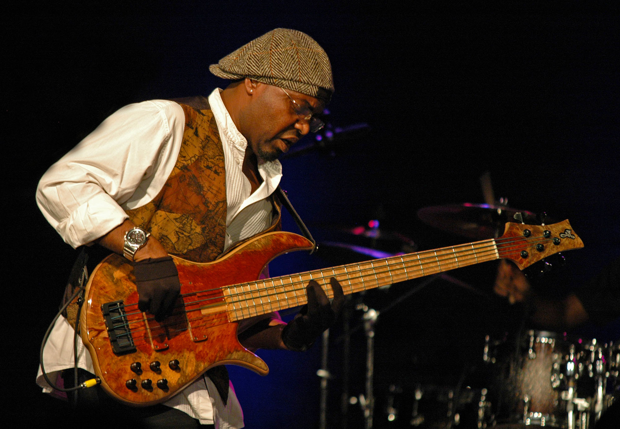 Etienne M'bappe, Performing with John McLaughlin and the 4th Dimension at the 2010 New Universe Music Festival