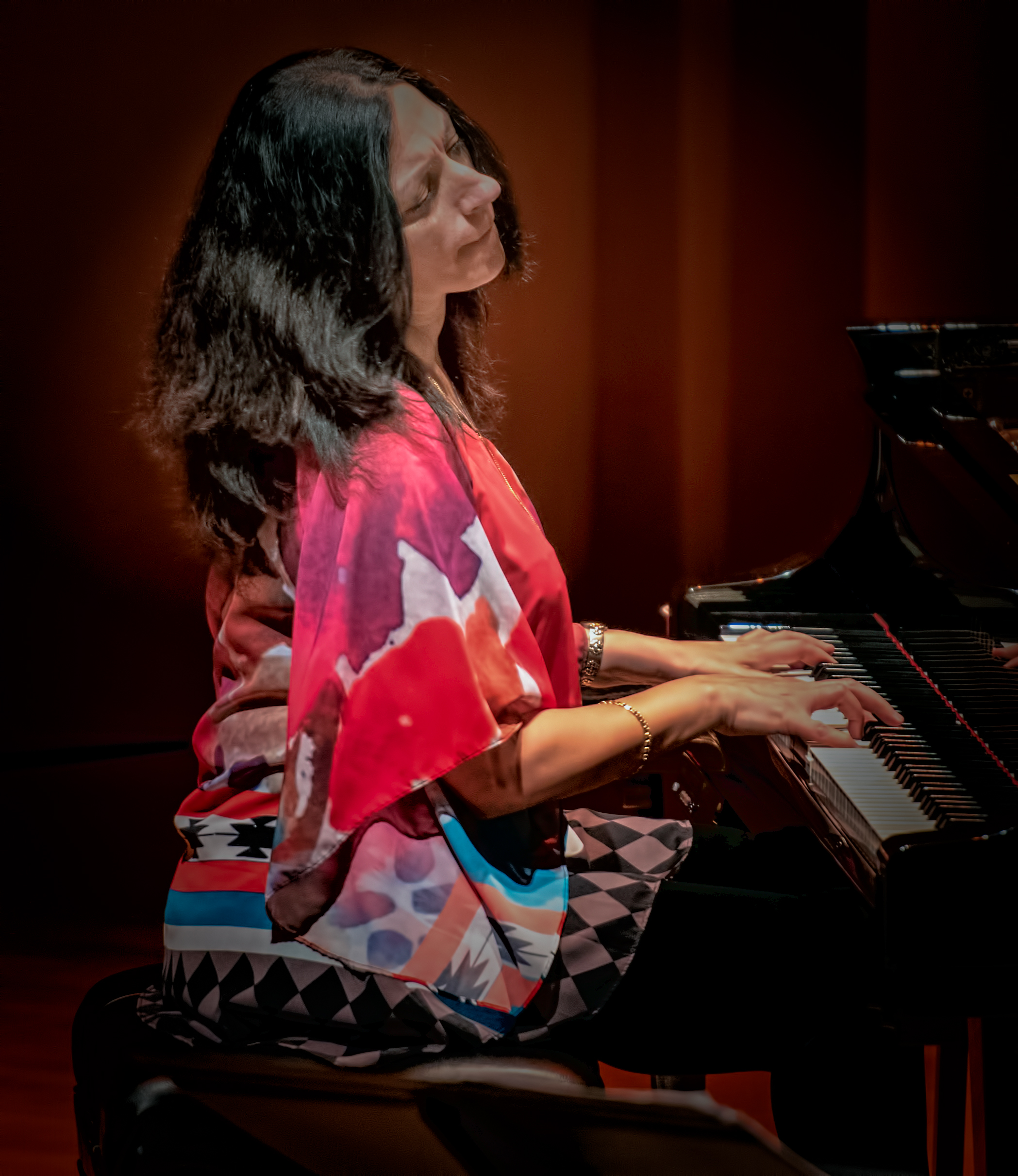 Amina Figarova with Sextet At The Musical Instrument Museum (MIM) In Phoenix