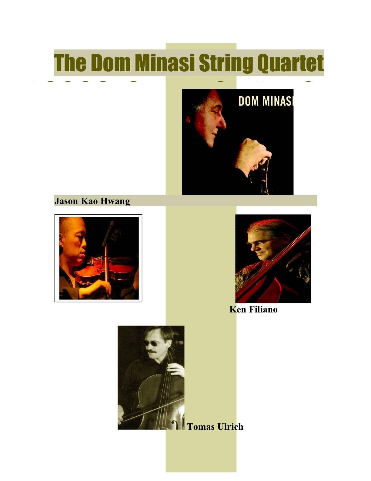 The Dom Minasi String Quartet