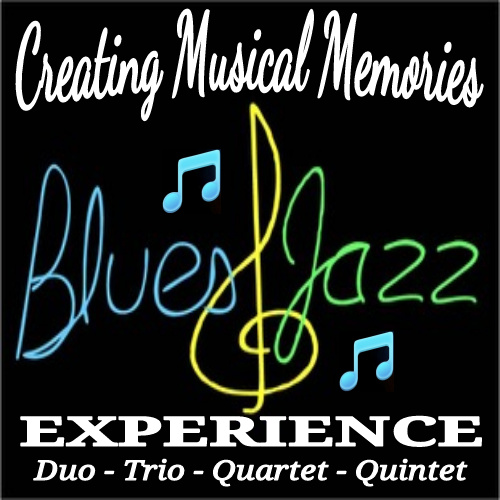 Blues and Jazz Experience banner/logo