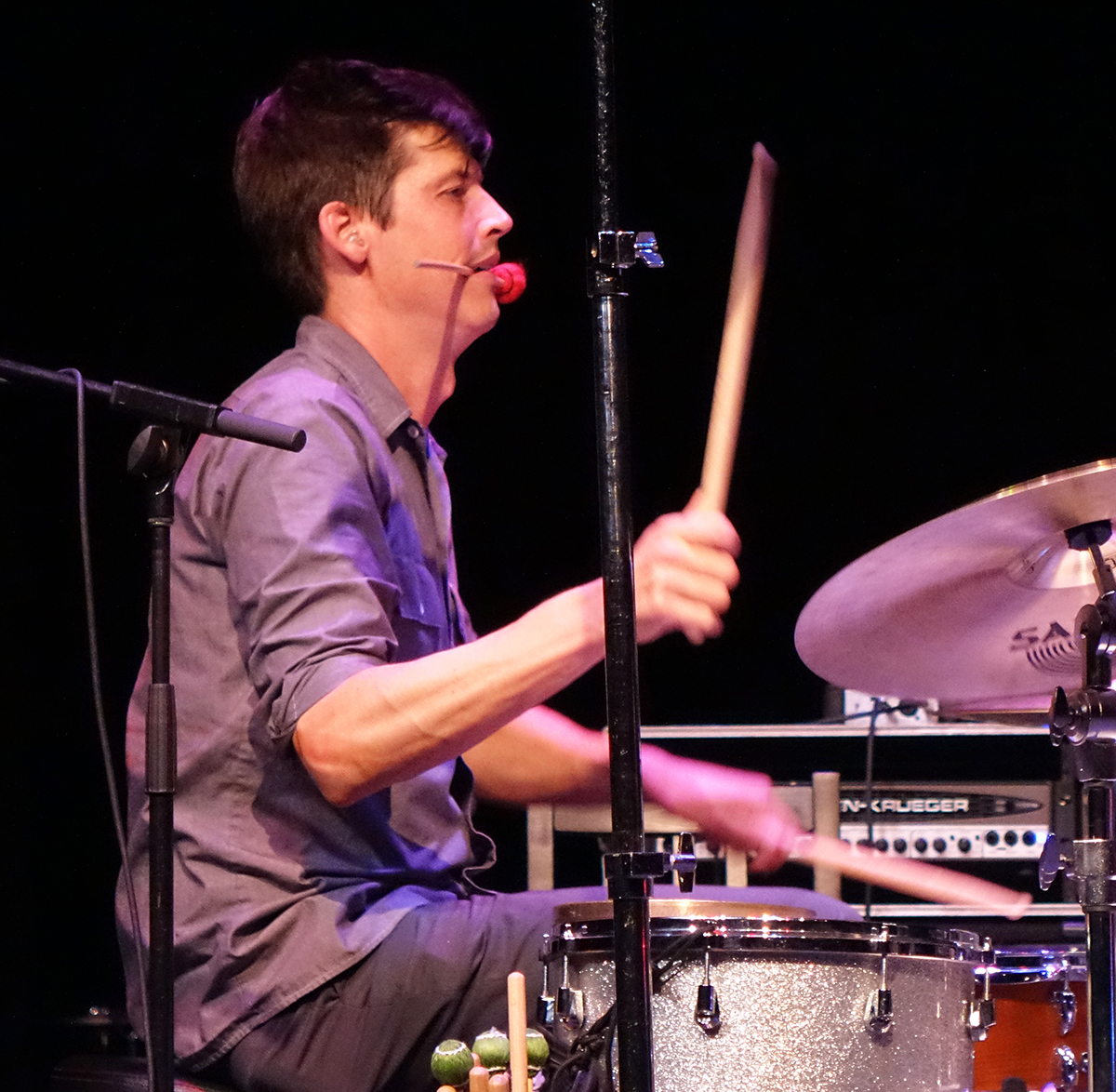 Ches Smith at Guelph Jazz Festival 2015