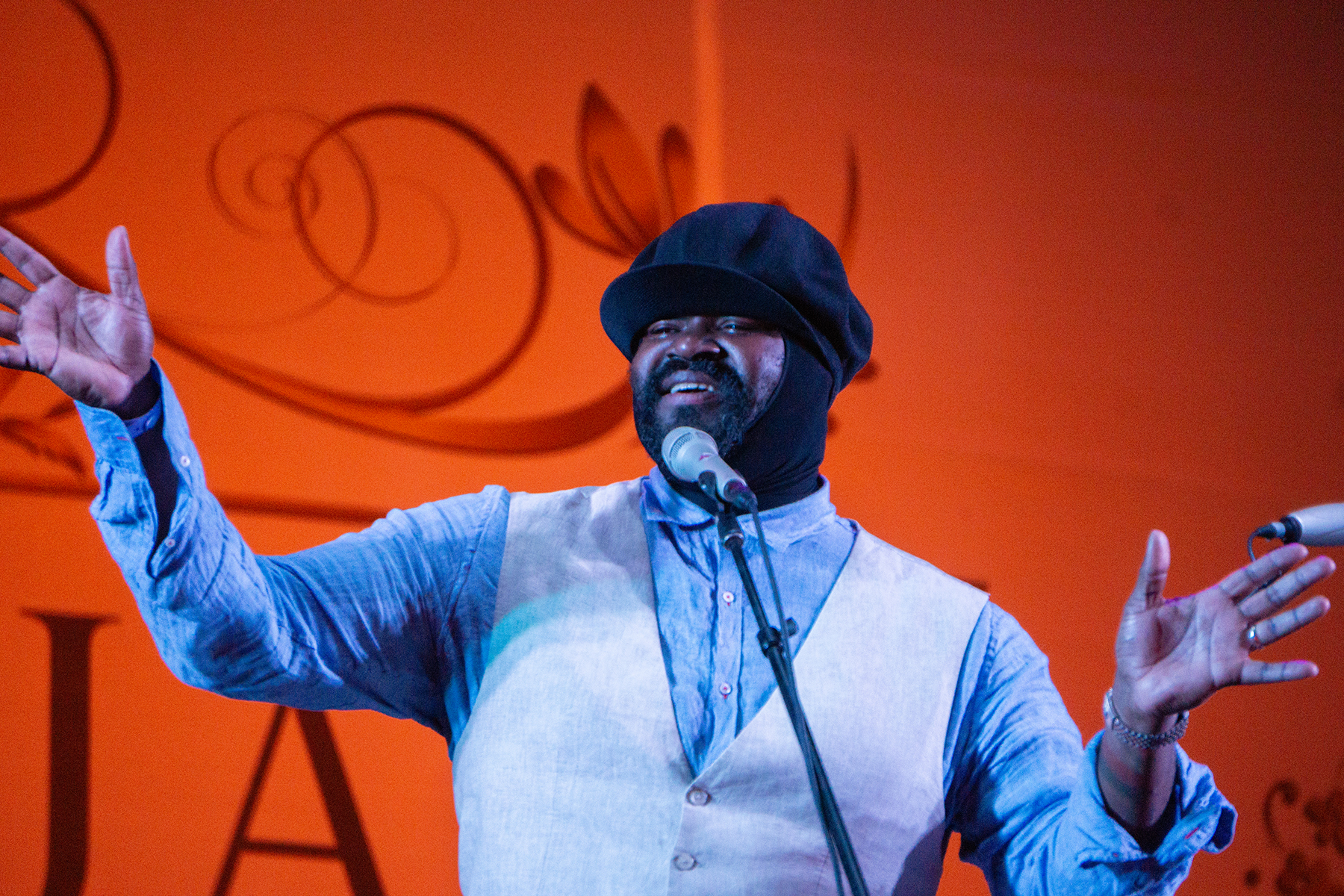 Singer Gregory Porter, Ultimate Jazz Baritone at Life Luxe Jazz