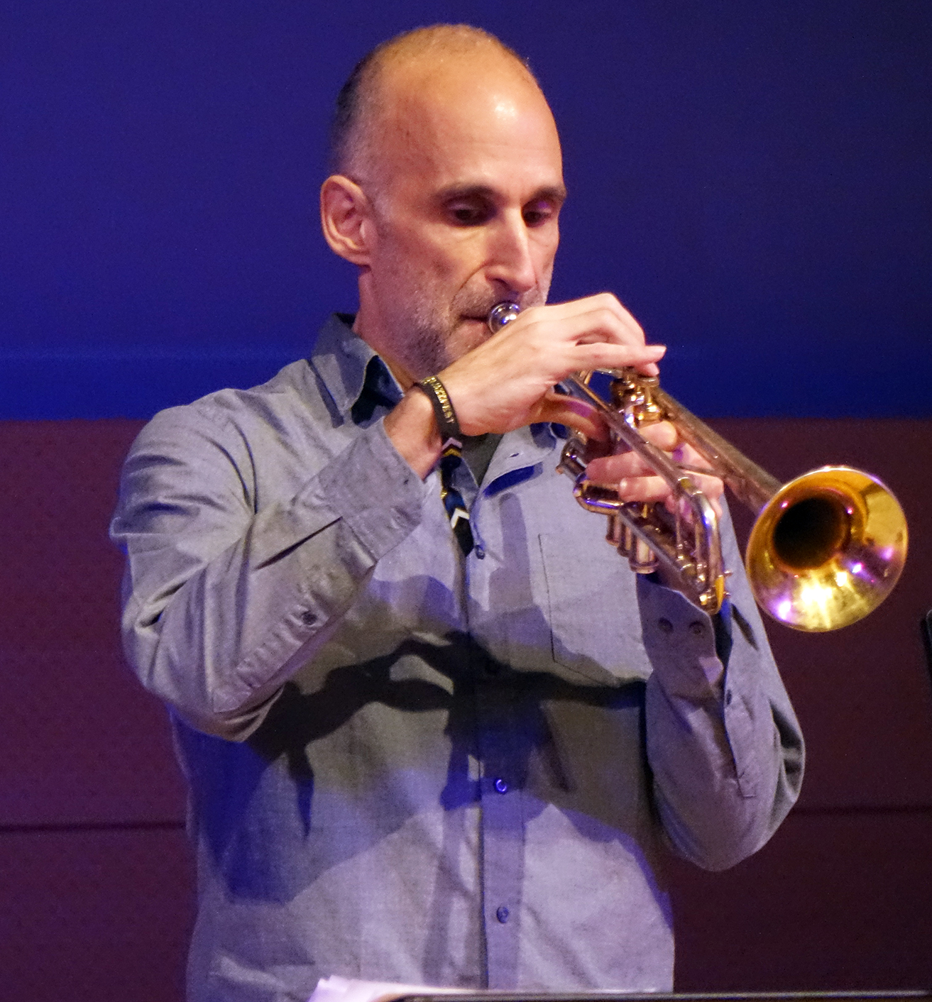 Ralph Alessi at NYC Winter JazzFest 2016