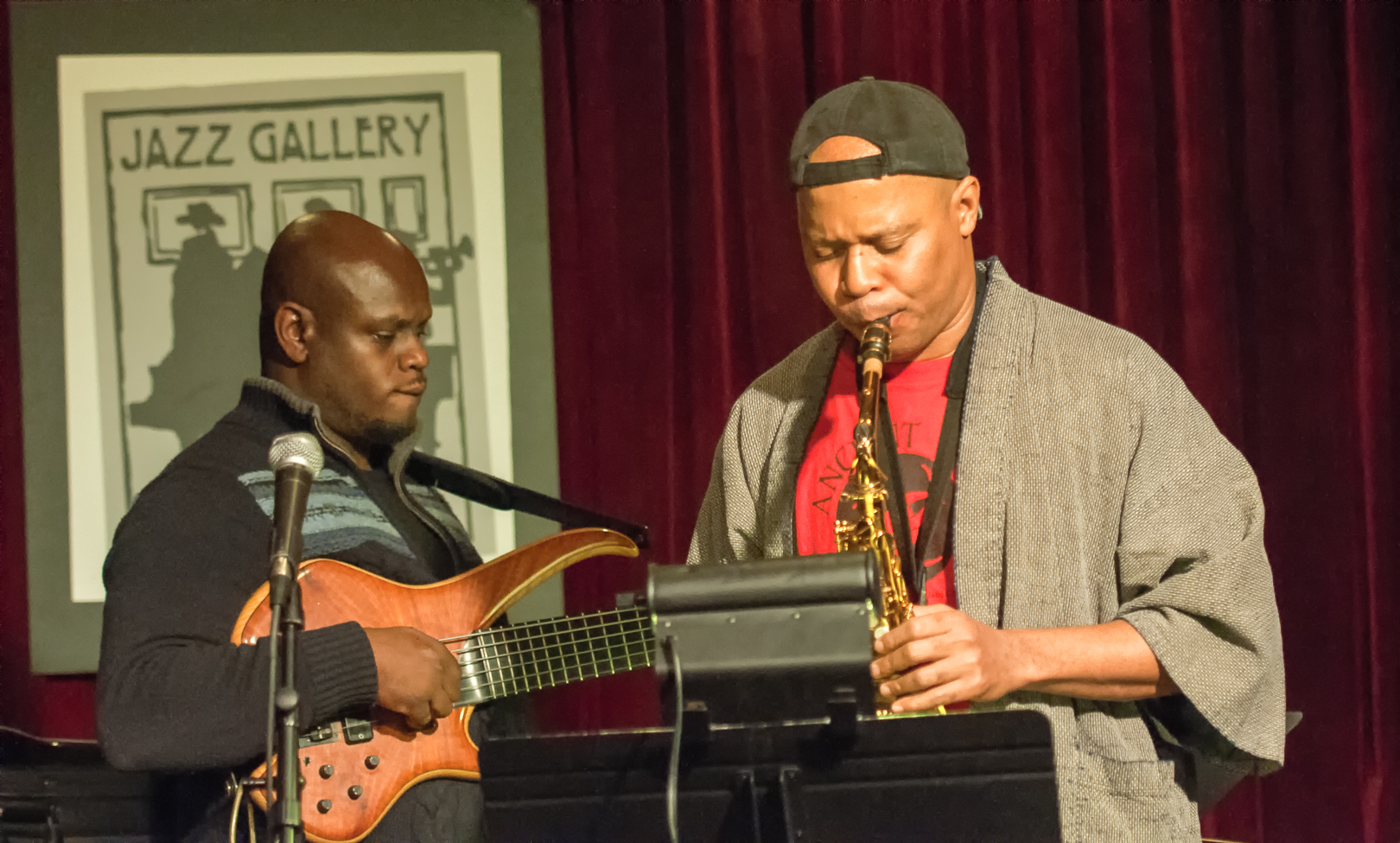 Anthony Tidd with Steve Coleman and the Five Elements at the Jazz Gallery