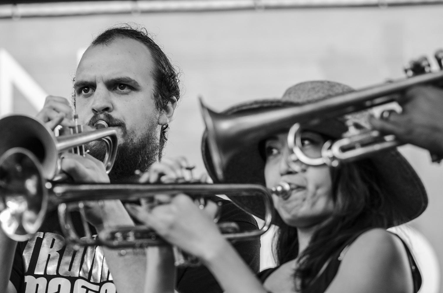 Trumpet Mafia in New Orleans
