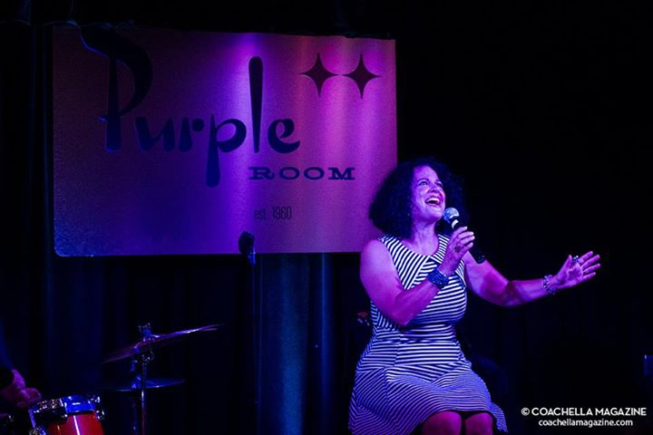 Francesca Amari @ the Purple Room Palm Springs