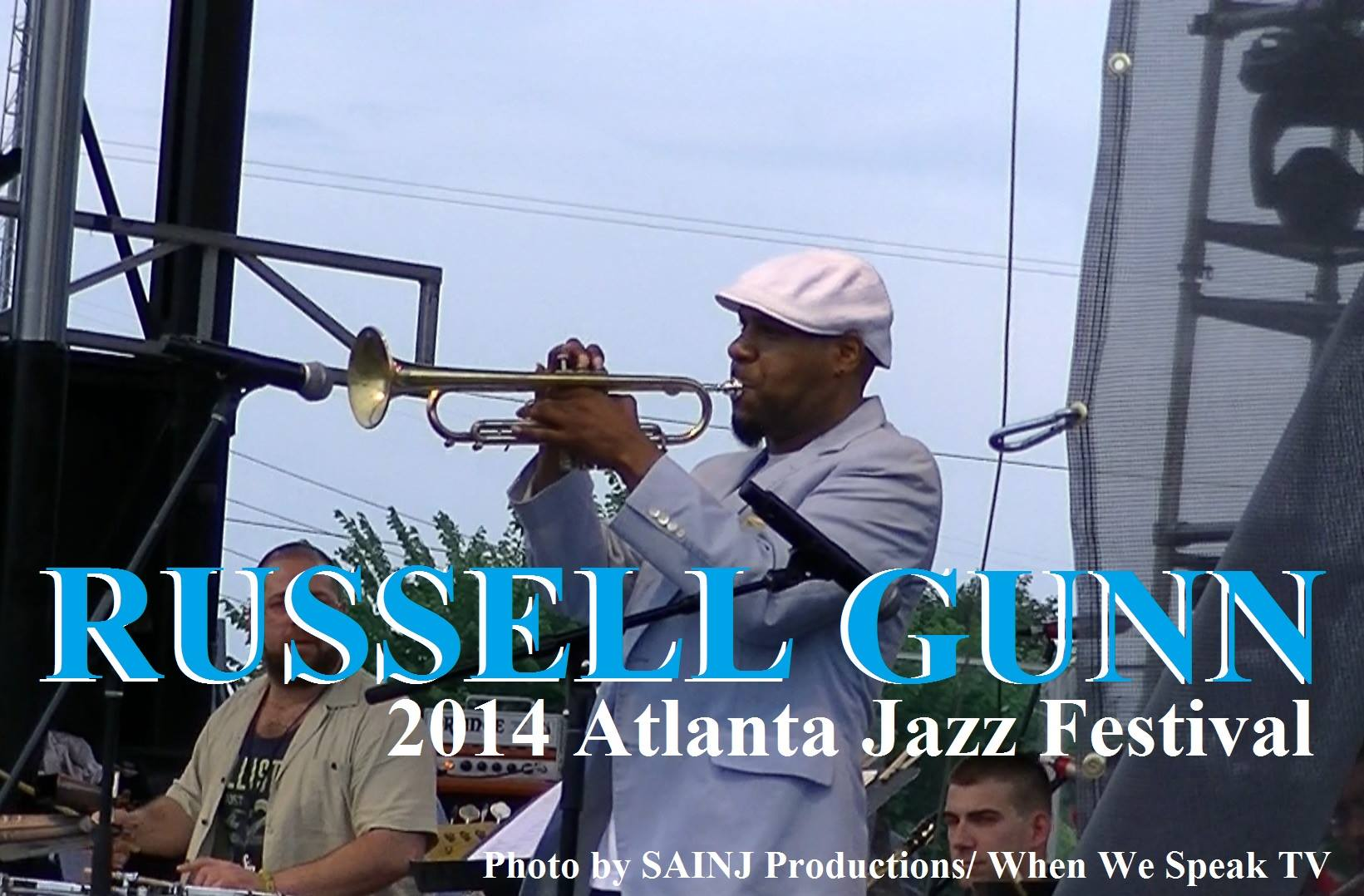 Russell Gunn Solo at Atlanta Jazz Festival