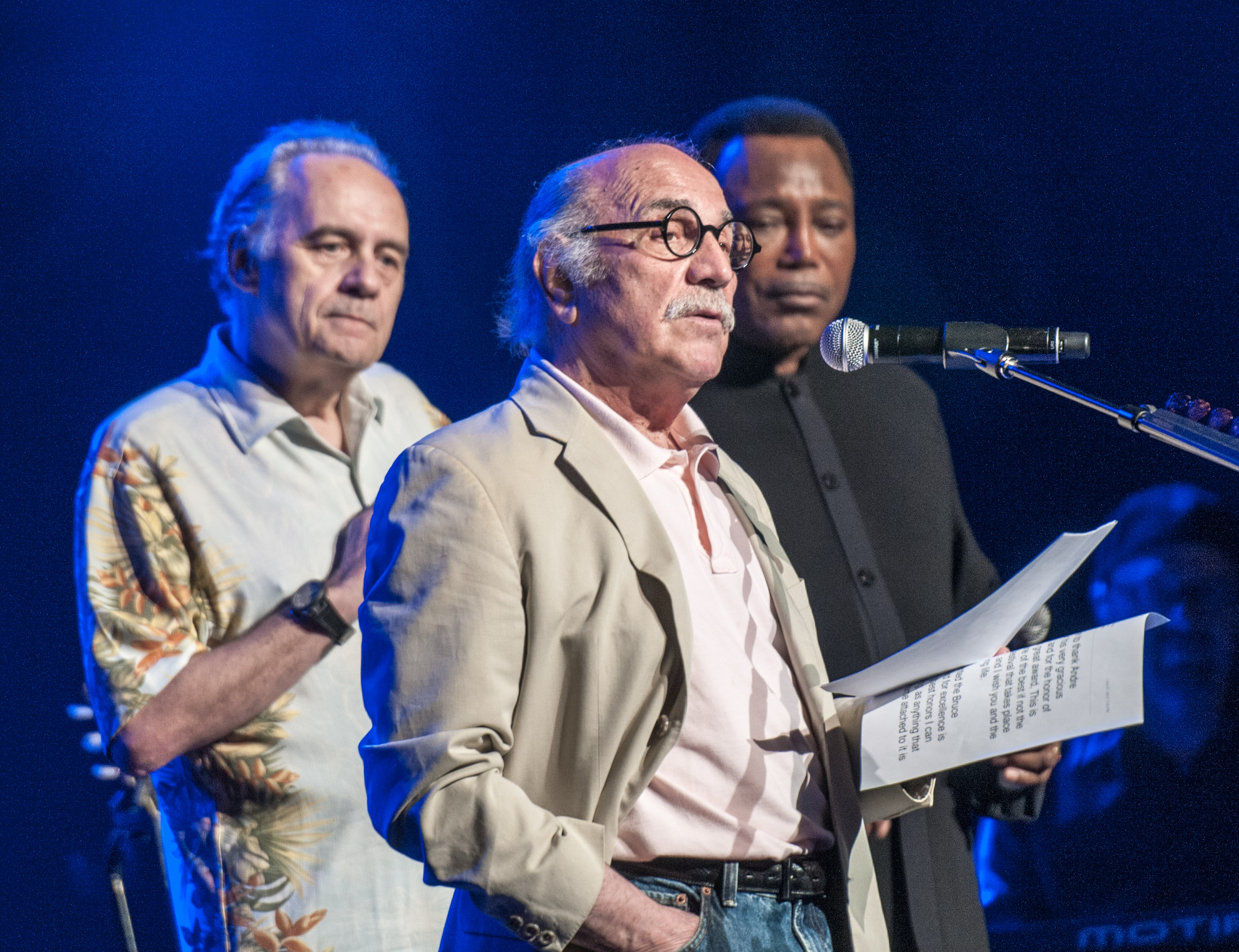 Andre menard, tommy lipuma and george benson at the montreal international jazz festival 2013
