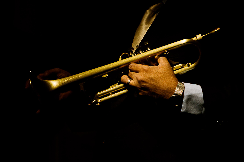Me Holding My Phaeton Trumpet