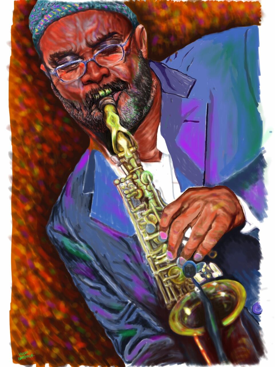 Kenny Garrett Painting