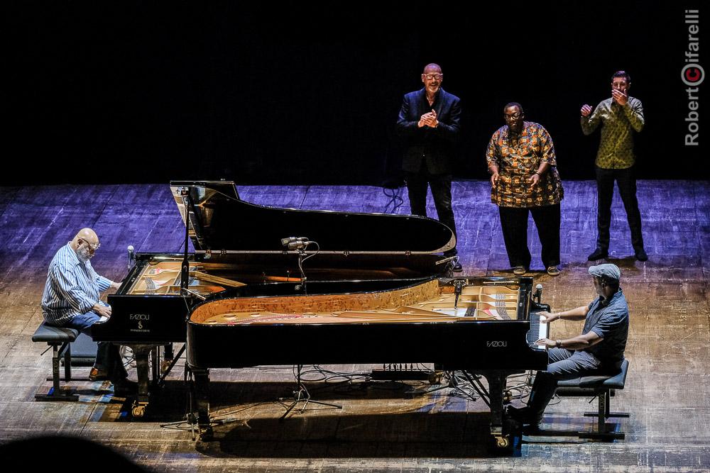 Kenny Barron, Dado Moroni, Cyrus Chestnut, Benny Green, Eric Reed, Umbria Jazz 2017