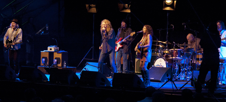 Robert Plant and Band of Joy, 2011 Ottawa Jazz Festival