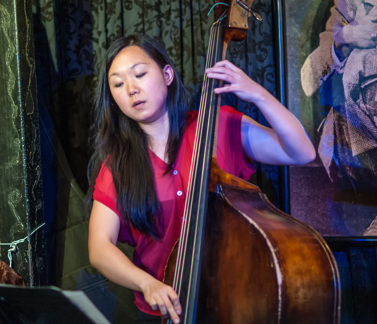 Linda oh with tim green quartet at smalls jazz club