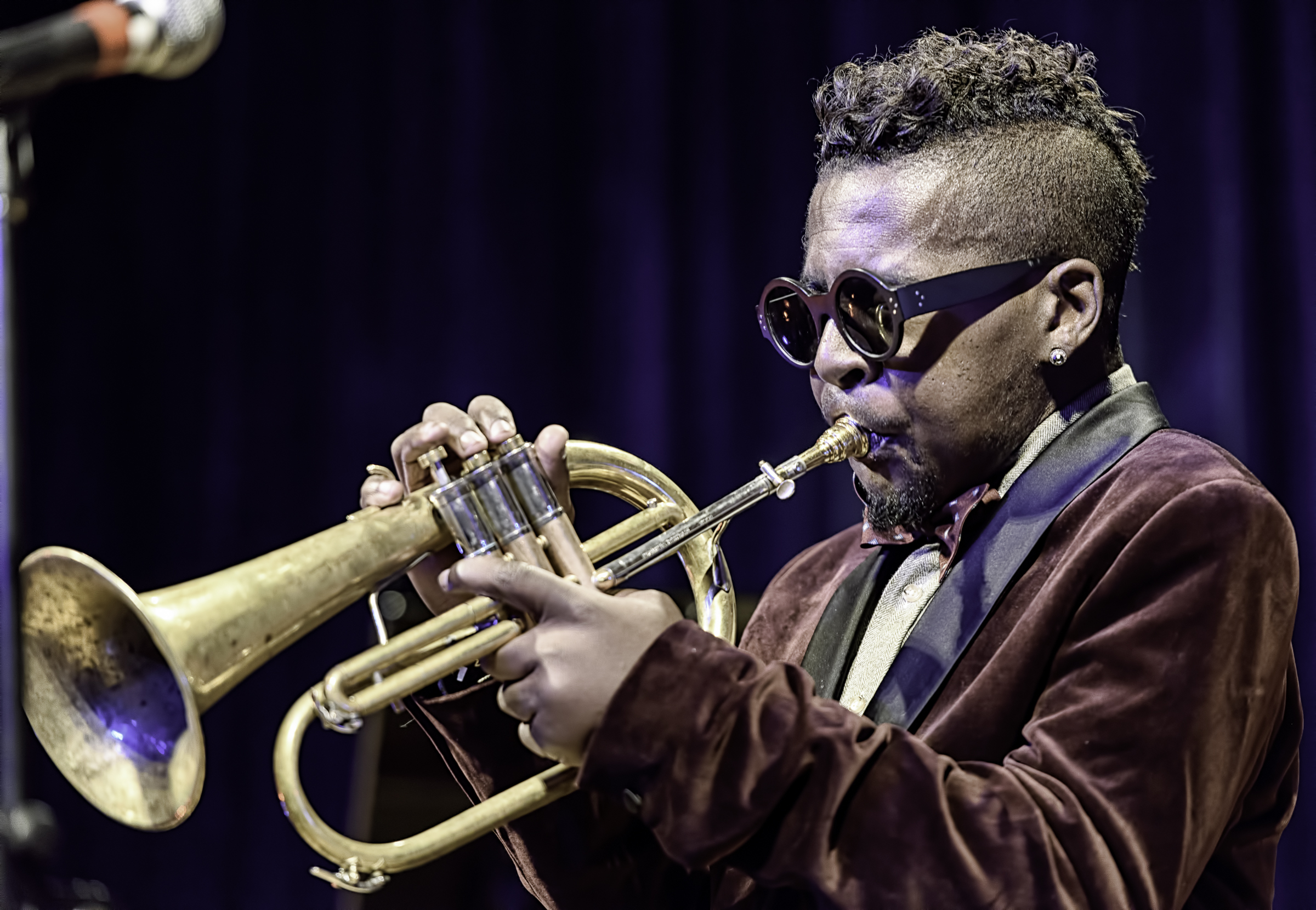 Roy Hargrove with Quintet At The NYC Winter Jazzfest 2016