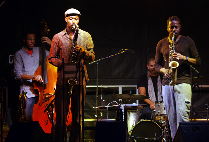 Soweto Kinch Quartet, Imperial Wharf Jazz Festival, London